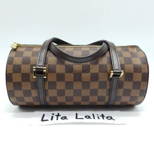 Louis Vuitton Papillon 26 Damier Ebene